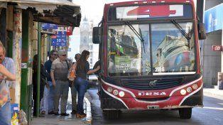 Los colectivos cambian su recorrido en San Benito