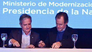 Bordet firmó con la Nación un acuerdo para eliminar los nichos de corrupción