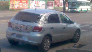 Terror en Almafuerte porque un auto transitó por la vereda
