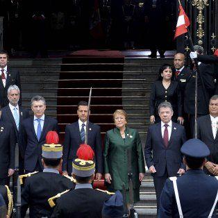Macri participó de la asunción presidencial de Kuczynski en Perú