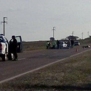 murio un motociclista de 15 anos tras sufrir un accidente en la ruta 131