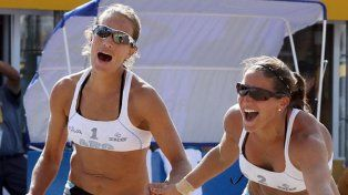 La entrerriana Ana Gallay junto a Klug en semifinales