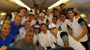 La selección Sub 23 llegó a Río