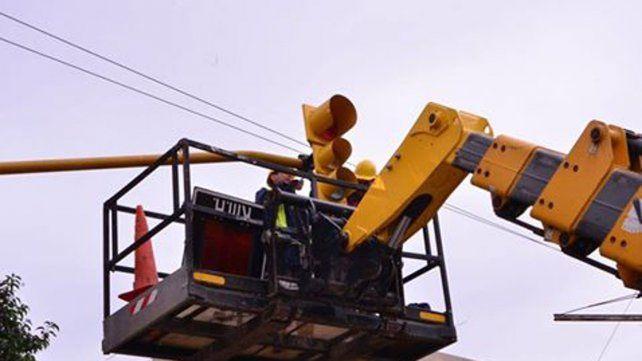 Circular con cuidado: los semáforos de calle Alem estarán intermitentes