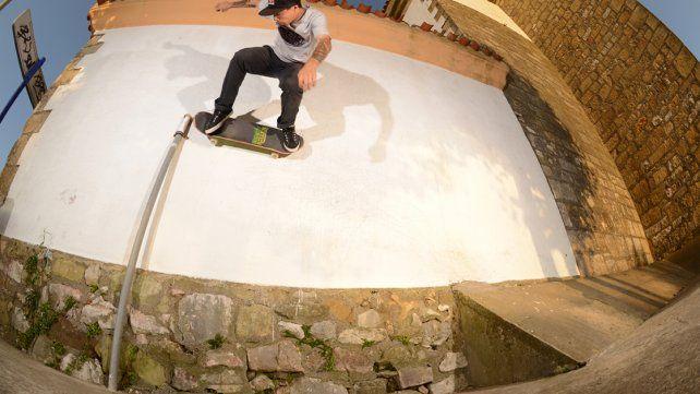 Milton Martínez está listo para volver al skate