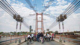 Santa Fe cerró la costanera y el puente para que disfrute la gente sin autos