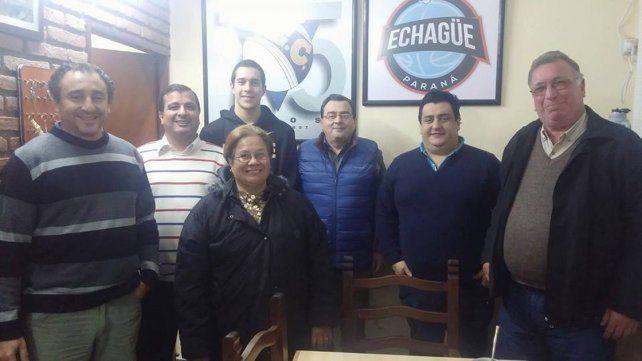 Durante las últimas horas el AEC firmó contrato con Carlos Buemo.