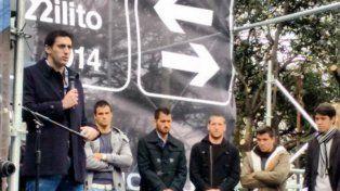 Robaron el cartel que lleva el nombre de Diego Milito