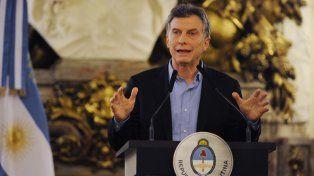 Cae la imagen positiva del presidente Mauricio Macri