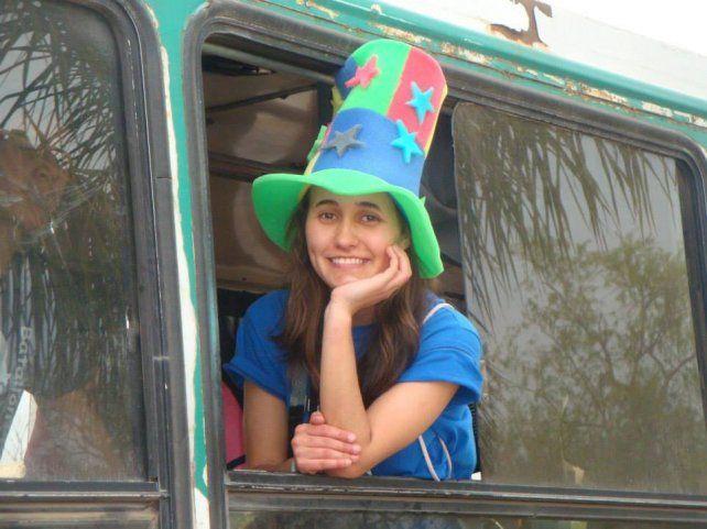 Una joven paranaense se va a evangelizar a África