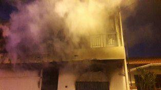 El incendio en la zona de terminal afectó a un consultorio