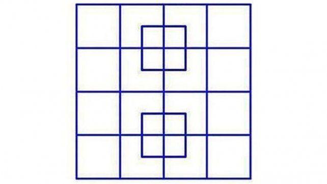 Una imagen de cuadrados enloquece a los cibernauta