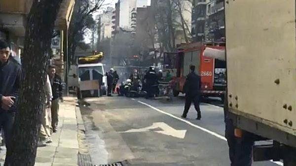 Un operario murió luego de la explosión y escape de gas en Barracas