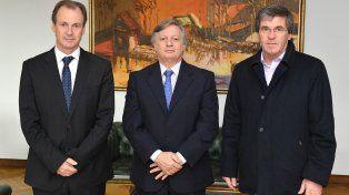 Bordet se reunió con Aranguren para tratar temas vinculados a la matriz energética provincial