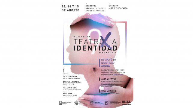 Nueva edición de la muestra Teatro por la Identidad