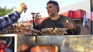 Miguel dice que le apostó todas las fichas al emprendimiento. Foto UNO Mateo Oviedo.