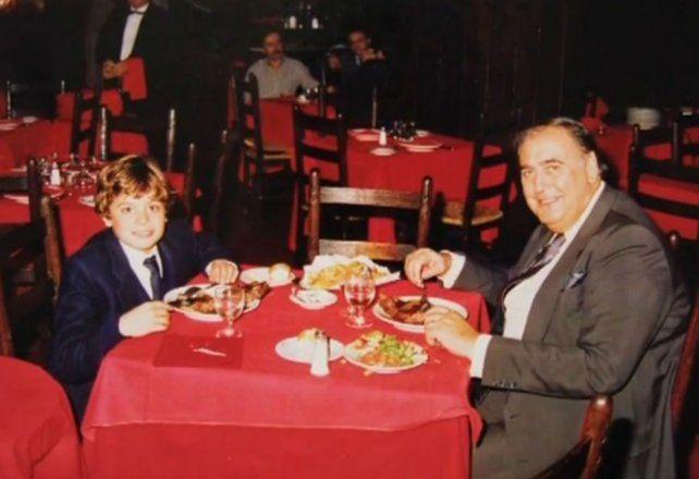 La emotiva carta del nieto de Juan Carlos Mesa