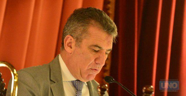 El ex gobernador Urribarri es el actual presidente de la Cámara de Diputados de Entre Ríos. Foto UNO Juan Manuel Hernández.