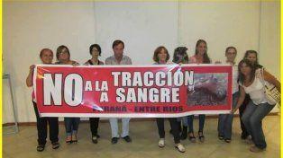 En Paraná marcharán para terminar con la tracción a sangre