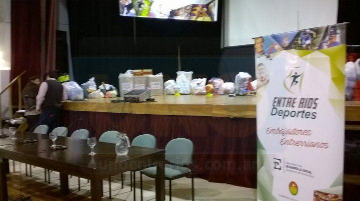 Se presentaron los Juegos Evitas provinciales