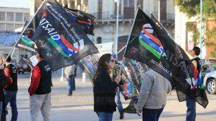 Trabajadores de televisión volvieron a manifestarse en Paraná