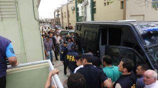 Crimen del soldado: con fuerte custodia trasladaron a Brian Escobar a Chajarí