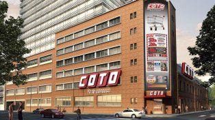 Coto inaugura su nuevo hipermercado y torres de oficina en Barracas