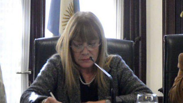 Una activa participación tuvo el tribunal presidido por Noemí Berros (foto)