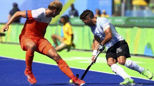 Los Leones reaccionaron a tiempo e igualaron contra Holanda