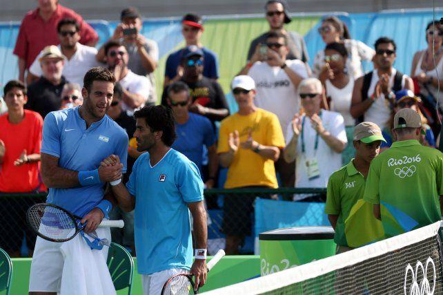 Del Potro y González se instalaron en octavos de final del dobles masculino