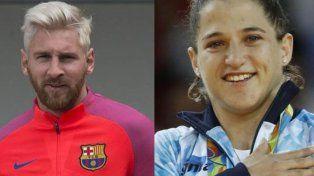El mensaje de Messi a Pareto tras la obtención de la medalla de oro