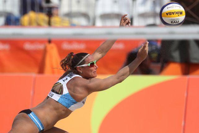 Otra derrota para el binomio argentino en el Beach Volley de Río de Janeiro