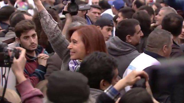 CFK en la Villa 31: No es un lujo que nuestros pibes coman cuatro veces al día