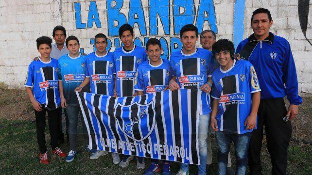 Peñarol mostró sus juveniles de cara al futuro. Los chicos quieren seguir creciendo y van por más.