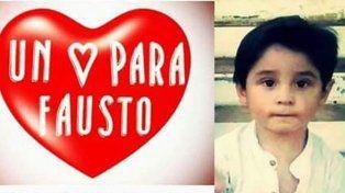 Fausto tiene 3 años y necesita un nuevo corazón