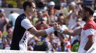 Mónaco cayó ante Murray y quedó eliminado de Río 2016