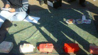 Un perro policía detectó cerca de 10 kilos de marihuana en La Paz