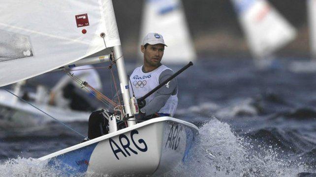 Alsogaray quedó como líder en Láser y Olezza fue tercero en Finn