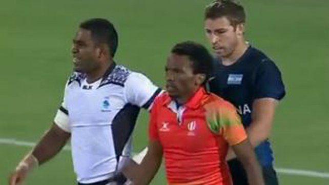 Derrota del equipo argentino de rugby ante Fiji