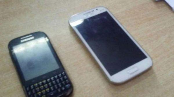 Peritarán celulares secuestrados. Foto: Tal Cual Chajarí