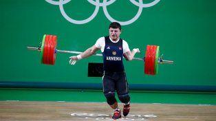Impactante lesión de un deportista armenio