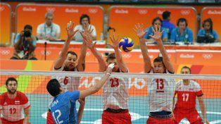 Argentina perdió el invicto ante Polonia