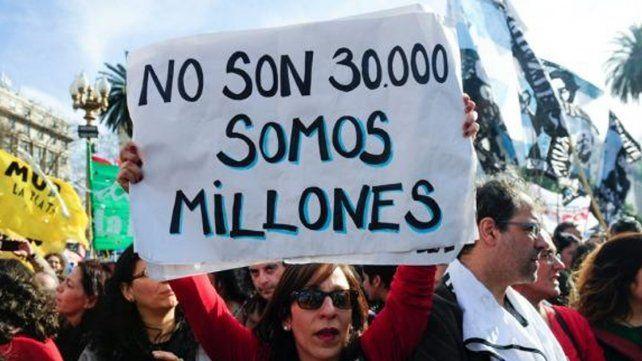 Las Madres de Plaza de Mayo realizaron su ronda 2000 y Bonafini llamó a retomar las marchas de la resistencia