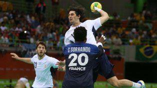 Handball: Los Gladiadores perdieron ante Francia
