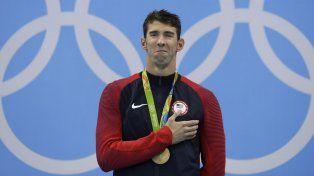 Michael Phelps consiguió su 22da medalla de oro