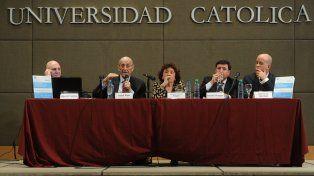 El informe fue presentado en Puerto Madero de la UCA.