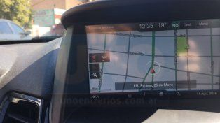 Paraná se convirtió en la ciudad donde los GPS perdieron precisión