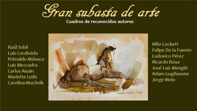 Subastarán obras de grandes artistas plásticos en Paraná