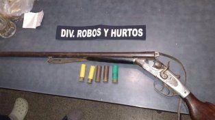 Secuestran armas