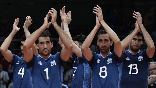 La selección argentina de vóley pasó a cuartos de final tras vencer 3 a 0 a Cuba
